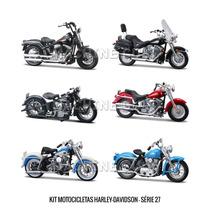 Kit Motos Harley-davidson - Série 27 A 32 - 36 Unidades