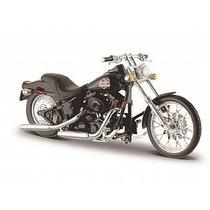 Kit 4 Miniaturas Motos Diecast - 1:18 Maisto Harley Davidson