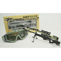 Miniaturas Die Cast 1:6 Armas-l96, Aug E Thompson - Airsoft.