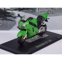 Miniatura Moto Kawasaki Zx 12 R Produto Novo.
