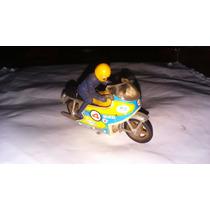 Moto De Brinquedo - Década De 70