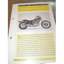 ( L - 430 ) Folder Motocicleta Yamaha Drag Star