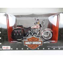 Miniatura Moto Harley Davidson 1:10 Flsts Heritage Maisto