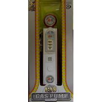 Miniatura Bomba De Gasolina Antiga Carros Diorama 1/18