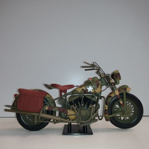 Moto Indian Chief U.s. Army 1948 1:6 New-ray
