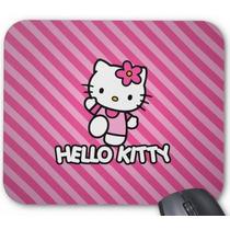Mouse Pad Hello Kitty Fundo Rosa*