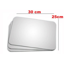 Mouse Pad Lan House Para Sublimação - 30cm X 25cm - 10 Unid