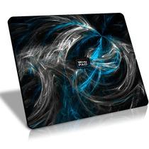 Mousepad Gamer Winpad Aura Blue Grande Control 45x40cm, Qck+