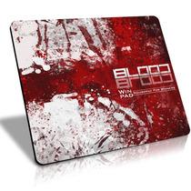 Mousepad Gamer Winpad Blood Grande Control 45x40cm , Qck +