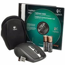 Mouse Logitech Anywhere Mx Usb Sem Fio Laser Para Notebook