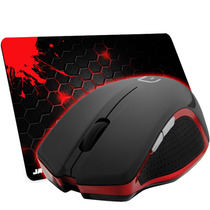 Mouse Multilaser X-gamer Wireless 3.200 Dpi + Mousepad Jayob