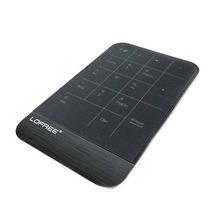 Teclado Numérico Touch S/ Fio E Touch Pad Ergonômico 2 Em 1