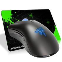 Mouse Razer Deathadder 3,5g 3500dpi + Mousepad Jayob Splash