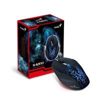 Mouse Gaming Xg510 6 Botoes P/games 500-2000dpi Usb Genius