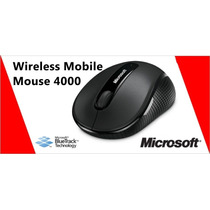 Mouse Microsoft 4000 Wireless Sem Fio Usb Bluetrack