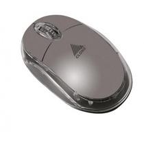 Mouse Usb Ergonômico Com Resolução 1000 Cpi Cinza