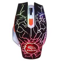 Mouse Ótico Gamer 6 Botões 3200 Dpi Pro Gaming Com Fio 5600
