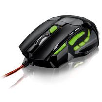 Mouse Gamer Fire Button Fio Nylon 2400 Dpi Multilaser Mo208