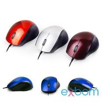 Mini Mouse Usb Acrílico 3d Ótico Cores Variadas