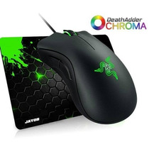 Mouse Razer Deathadder Chroma 10.000dpi + 2 Anos Gr. + Pad