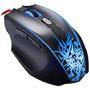 Mouse Laser Gamer Usb Rgb Ergonômico 6d F400 Oletech