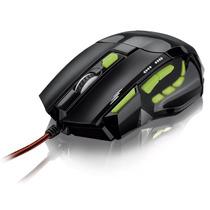 Mouse Optico Gamer Fire Button Usb 2400 Dpi Mo208 Multilaser