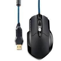 Mouse Warrior Gamer Com 8 Botoes 3200 Dpi Multilaser Mo191