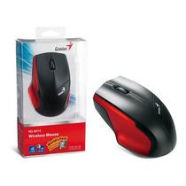 Mouse Wireless Genius 31030101104 Ns-6015 Usb Vermelho 1200