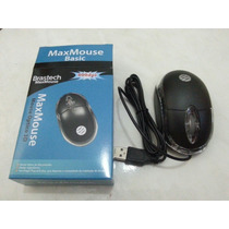 Kit Com 10 Mouses Optico Usb Brastech Maxmouse 800dpi