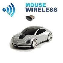 Mouse Carrinho Wireless Ótico Sem Fio Computador Notebook