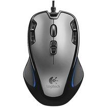 Mouse Gamer Macro Logitech 9 Botões 2500 Dpi Barato Original