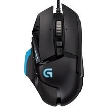 Mouse Logitech Gamer G502 Opt Usb Pto Res. 200 A 12000 Dpi