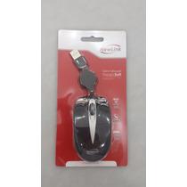 Mini Mouse Retrátil Newlink - Modelo Soft 800dpi