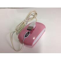Mouse Cor De Rosa Usb Para Pc Laptop