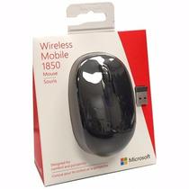 Mouse Óptico Microsoft 1850 Sem Fio U7z-00008 Preto