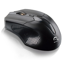 Mouse S/fio 2.4 Ghz 1600 Dpi Usb Multilaser Mania Virtual