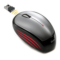 Mouse Genius Wireless Nx-6500, Usb, 1200dpi Mania Virtual