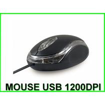 Mouse Óptico Usb Preto Revenda Atacado Barato