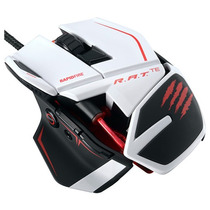 Mouse Mad Catz R.a.t. Te 8200dpi 9 Botões Usb Branco