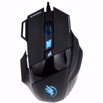 Mouse Gamer Usb 2400 Dpi Não Razer/macro Pc 7 Botões #lygy