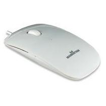 Mouse Ótico Manhattan Silhouette Usb Mh-177627 Branco Pian