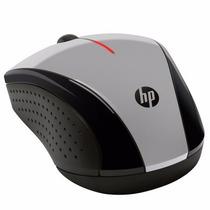 Mouse Optico Wireless Prata/pto X3000 Usb Hp®
