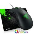 Mouse Razer Deathadder Chroma 10.000 Dpi + 2 Anos Gr. + Pad