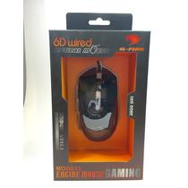 Mouse Gamer G-fire Óptico Usb 6 Botões Mog013