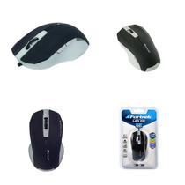 Mouse Óptico Om-302 Preto Usb 38561 Fortrek