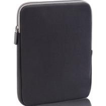 Case Em Neoprene P/notebooks Até 15/ (preto/cinza) C/ziper