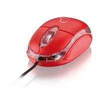Mouse Usb Com Fio Classic 800 Dpi Led Vermelho Multilaser