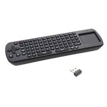 Rc12 - 2.4ghz Mini Teclado + Mouse Touch 1000dpi P/ Smart Tv