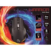 Mouse Profissional Gamer Pro Laser 8 Botoes Preto + Mousepad