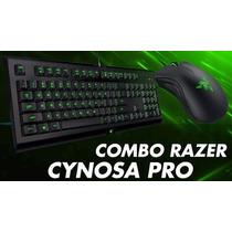 Combo Teclado Razer Cynosa 2000 Dpi Frete Grátis!!!